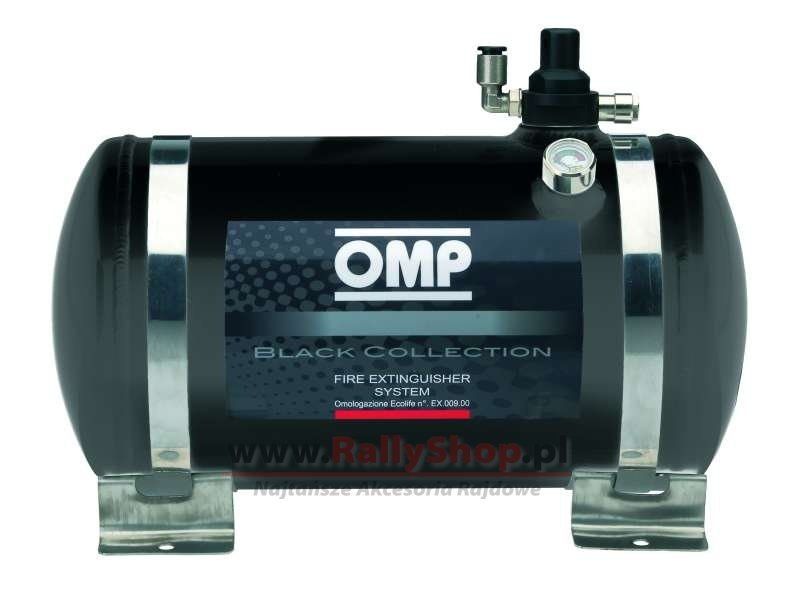 System gaśniczy OMP Black Collection (CESST1) - GRUBYGARAGE - Sklep Tuningowy